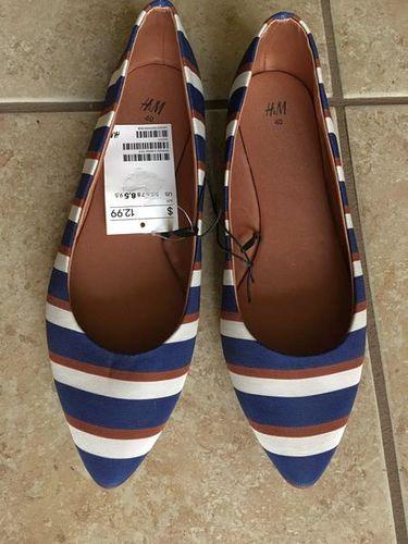 Brand New Fabric Slip on Ballet Loafer Shoes 8.5 for sale in North Salt Lake , UT