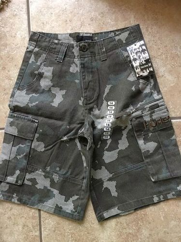New Hurley Youth Boy Cargo Shorts Size 14 for sale in North Salt Lake , UT
