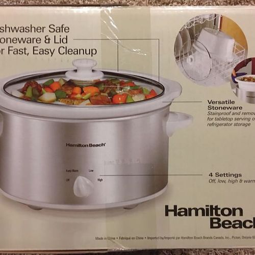 Hamilton Beach Crock Pot Slow Cooker 4QT  for sale in North Salt Lake , UT