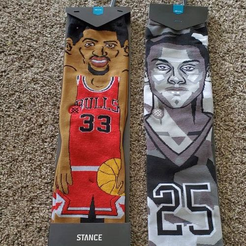 2 pairs of NBA player socks for sale in Syracuse , UT