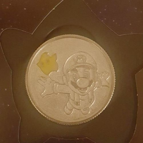 Super Mario coin with certificate of authenticity for sale in riverton , UT
