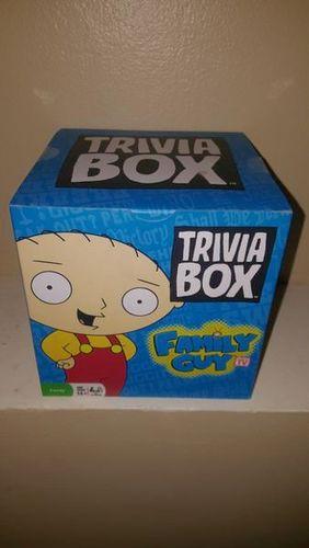 Family guy trivia box game new1/2 price of amazon for sale in Riverton , UT