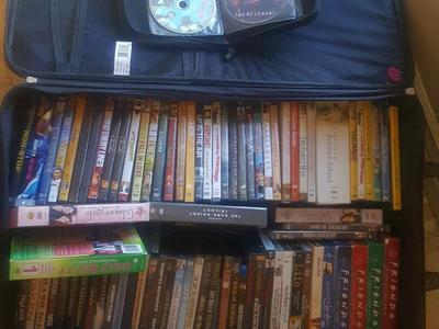86 dvd movies 4 blueray 16full seasons of tv shows