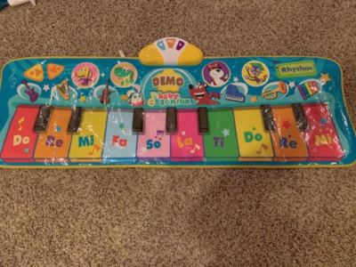 Baby Genius Step To Dance Junior Piano Mat