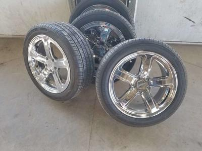 "18"" American Racing wheels and tires"