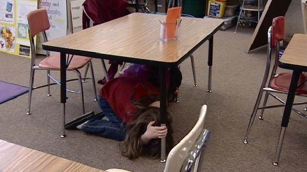 'Duck, cover and hold' best protection during quake   KSL.com