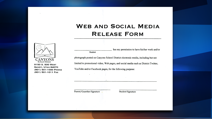 School release form has a new look in Canyons District | KSL.com