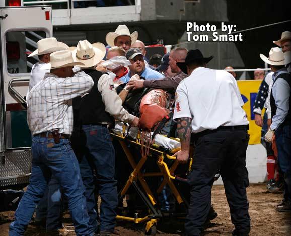 Bull Rider Injured At Days Of 47 Rodeo Ksl Com