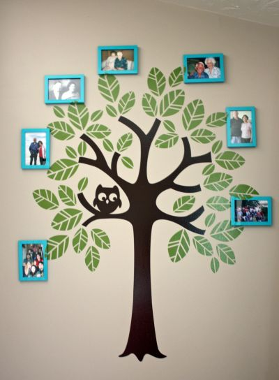 Family Tree Handprint Viewletter Co