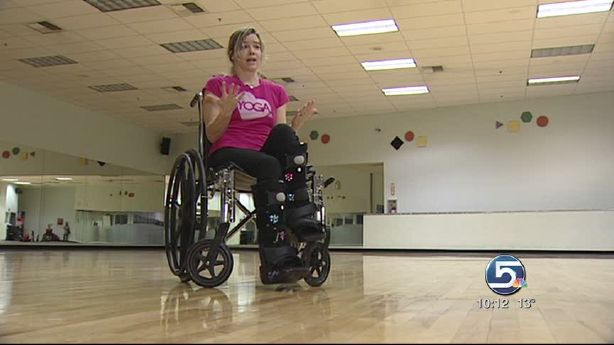 Ksl Com Cars >> Yoga instructor doesn't let broken legs keep her from teaching | KSL.com