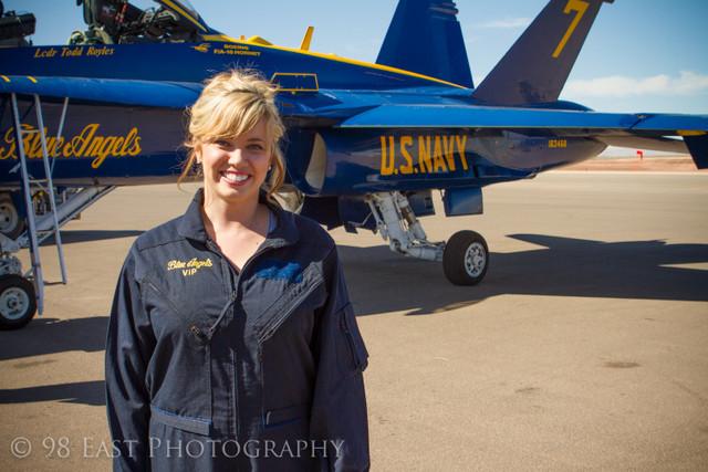 Ksl Com Cars >> Blue Angels take KSL's Brooke Walker for ride | KSL.com
