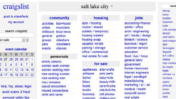 Provo Craigslist Rental Ad Scam Busted Traced To Nigeria Ksl Com