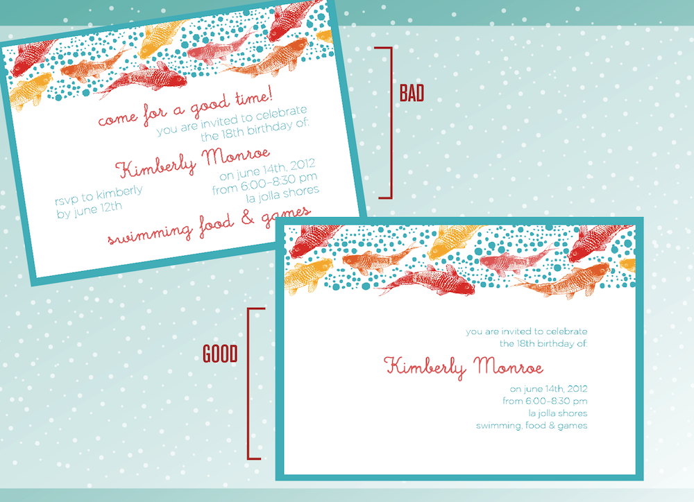 Designing A Print Ready Birthday Invitation Card In Photoshop Plus – Standard Birthday Card Size