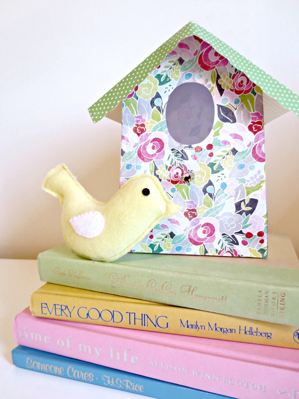 For Templates To Make Your Own Paper Birdhouses Check Out Kamis Blog Sweetcharliblogspot