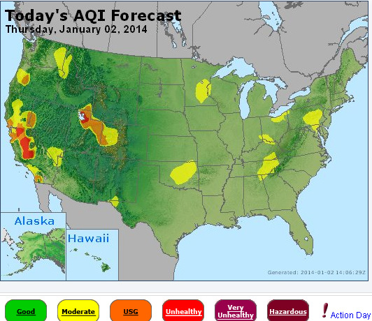According To The Epa Salt Lake City Phoenix Las Vegas And Central California Are Suffering From The Worst Air In The Country