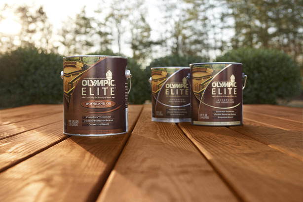 OLYMPIC Stain Launches Super-Premium OLYMPIC ELITE with Its Richest ...
