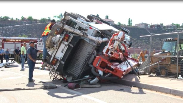 Man killed in cement pump truck accident identified   KSL.com