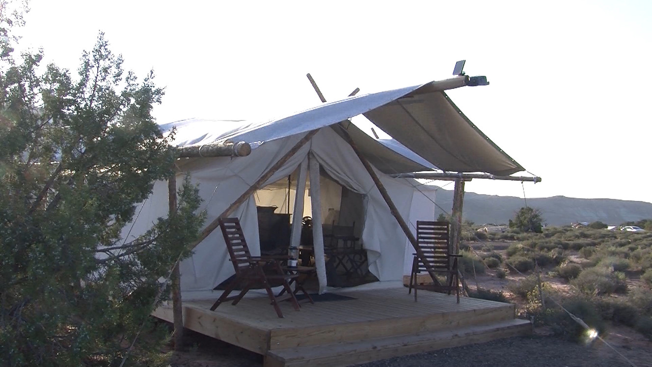 image0 image1 ...  sc 1 st  KSL.com & Luxury tents a hit in Moab | KSL.com