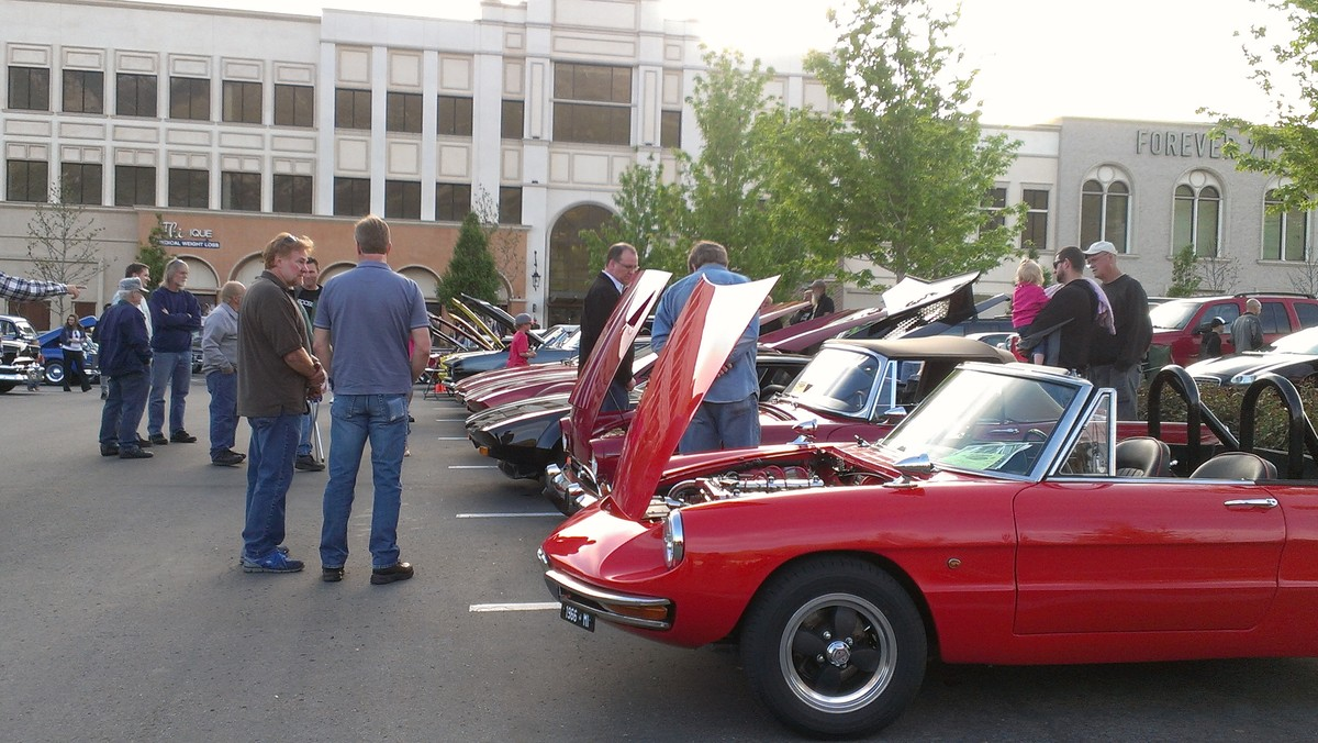 Station park hosts a cruise night every third wednesday may through october courtesy of station park