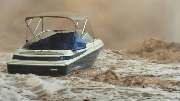 Ksl Com Cars >> Boat submerged by flash flooding at Lake Powell | KSL.com