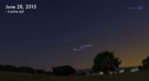 3 planets visible to naked eye in coming days