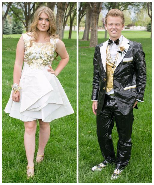 Utah teens make duct tape prom attire, earn scholarship money | KSL.com