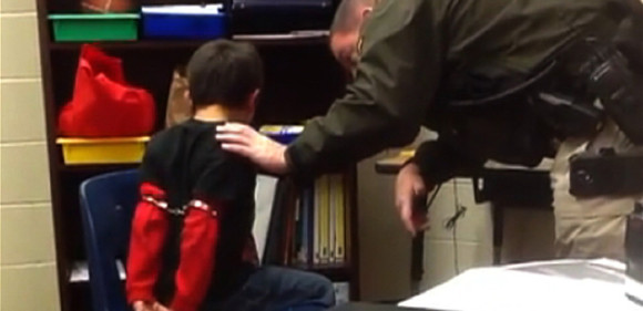Handcuffing Third Grader Interactions >> Officer Sued For Handcuffing Children With Adhd Ksl Com