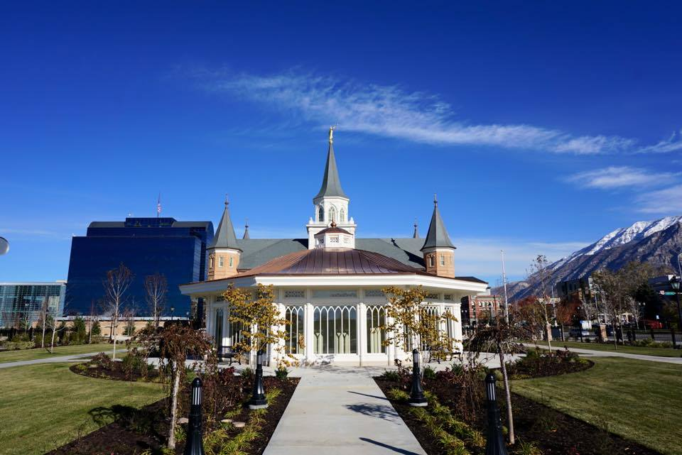 With Just Two Months Before The LDS Church Begins A Public Open House At  The New Provo Center Temple ...