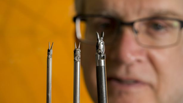 Origami inspires BYU team's tiny robotic surgery tools