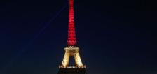 LO ÚLTIMO: Monumentos europeos se iluminan de colores belgas