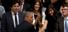 LO ULTIMO: Obama baila tango durante cena en Argentina