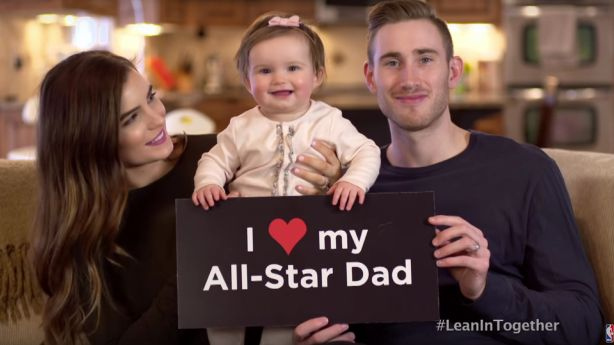 Gordon Hayward's family stars in campaign for female empowerment
