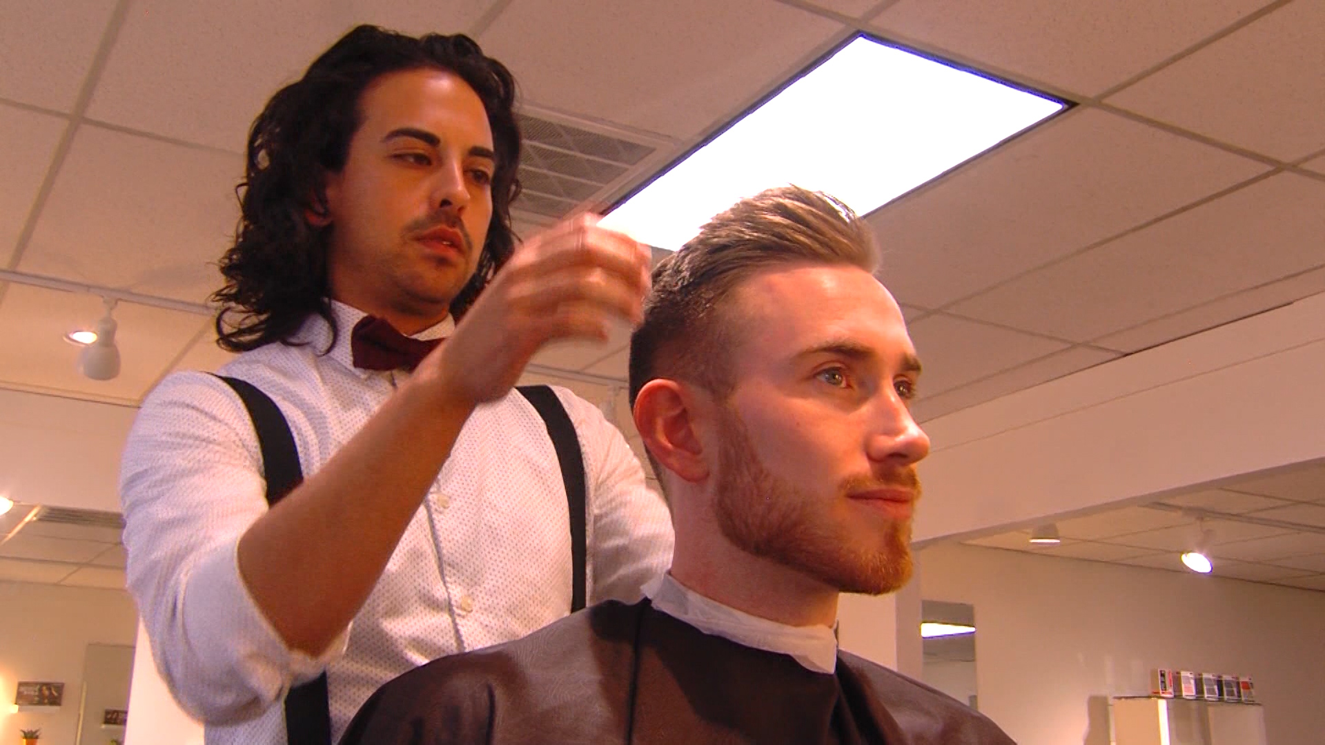 Jazz Forward Gordon Hayward And His Famous Haircut Featured In Gq