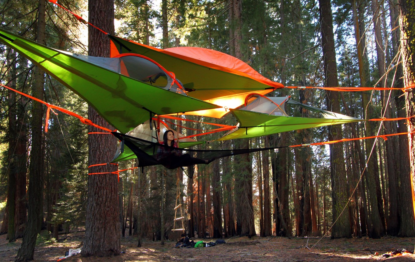 Photo credit Tentsile & Company that manufactures unique tree tents opens store in Ogden ...