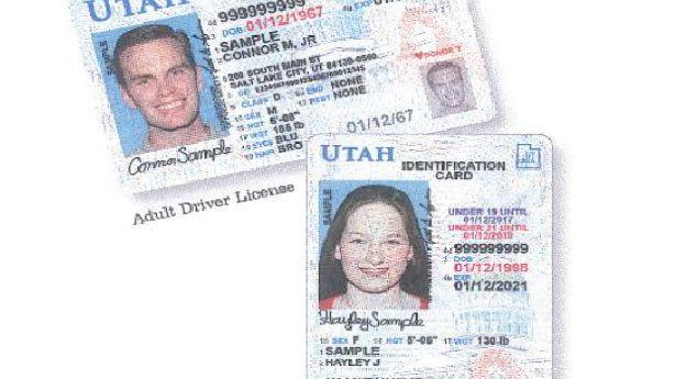 update drivers license address utah