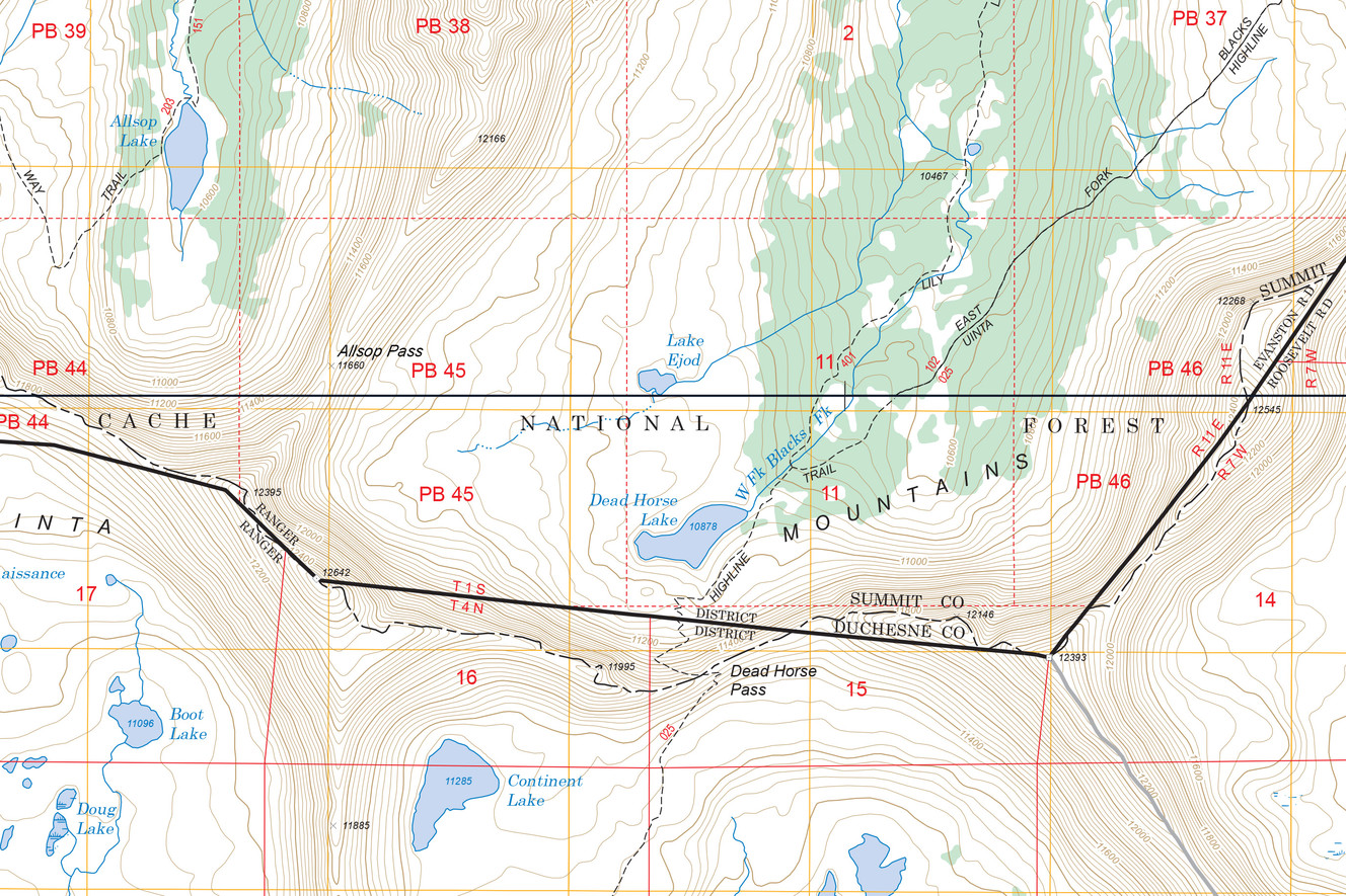 Recovery Of Missing Hikers Remains Provides Peace Answers For - Us forest service topographic maps