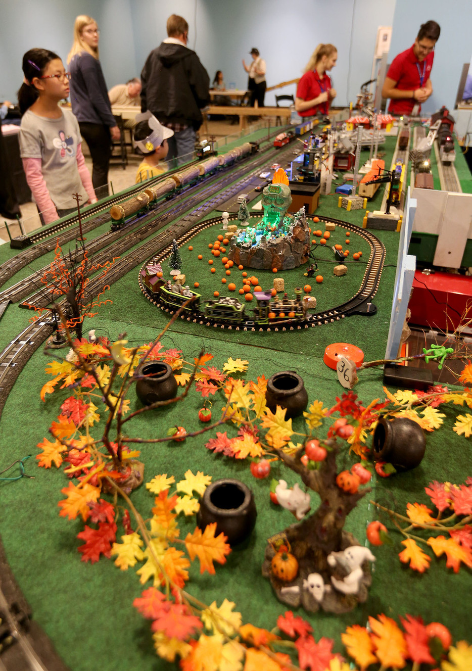 Photos All Aboard Kids Learn All About Trains At Museum Event