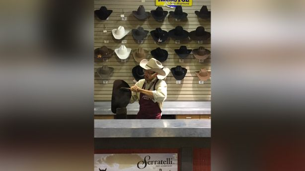 The art of hat shaping and the Utah man who loves it  21ccdd2f3a64