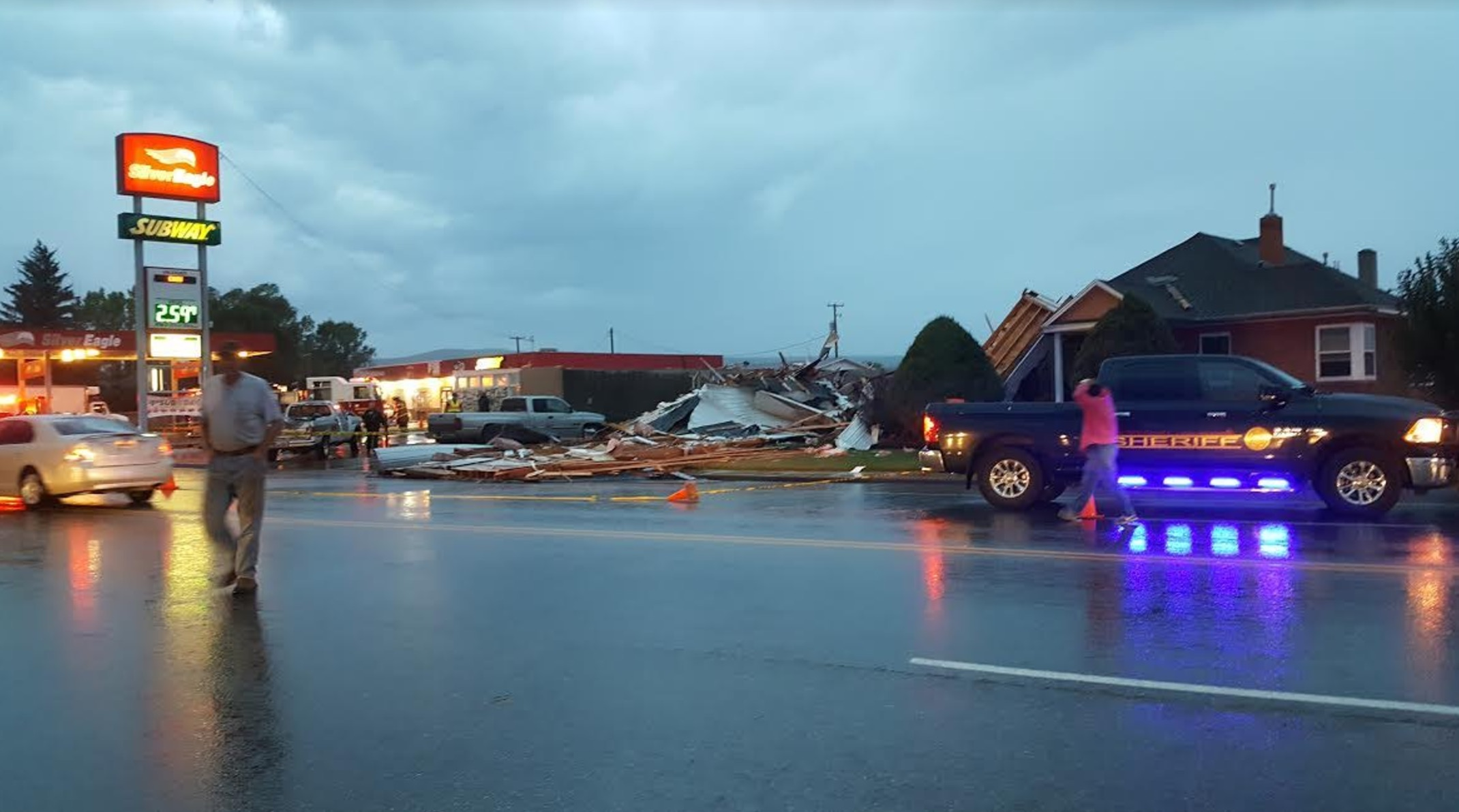 Tornado touches down in Weber County as wild weather roars through