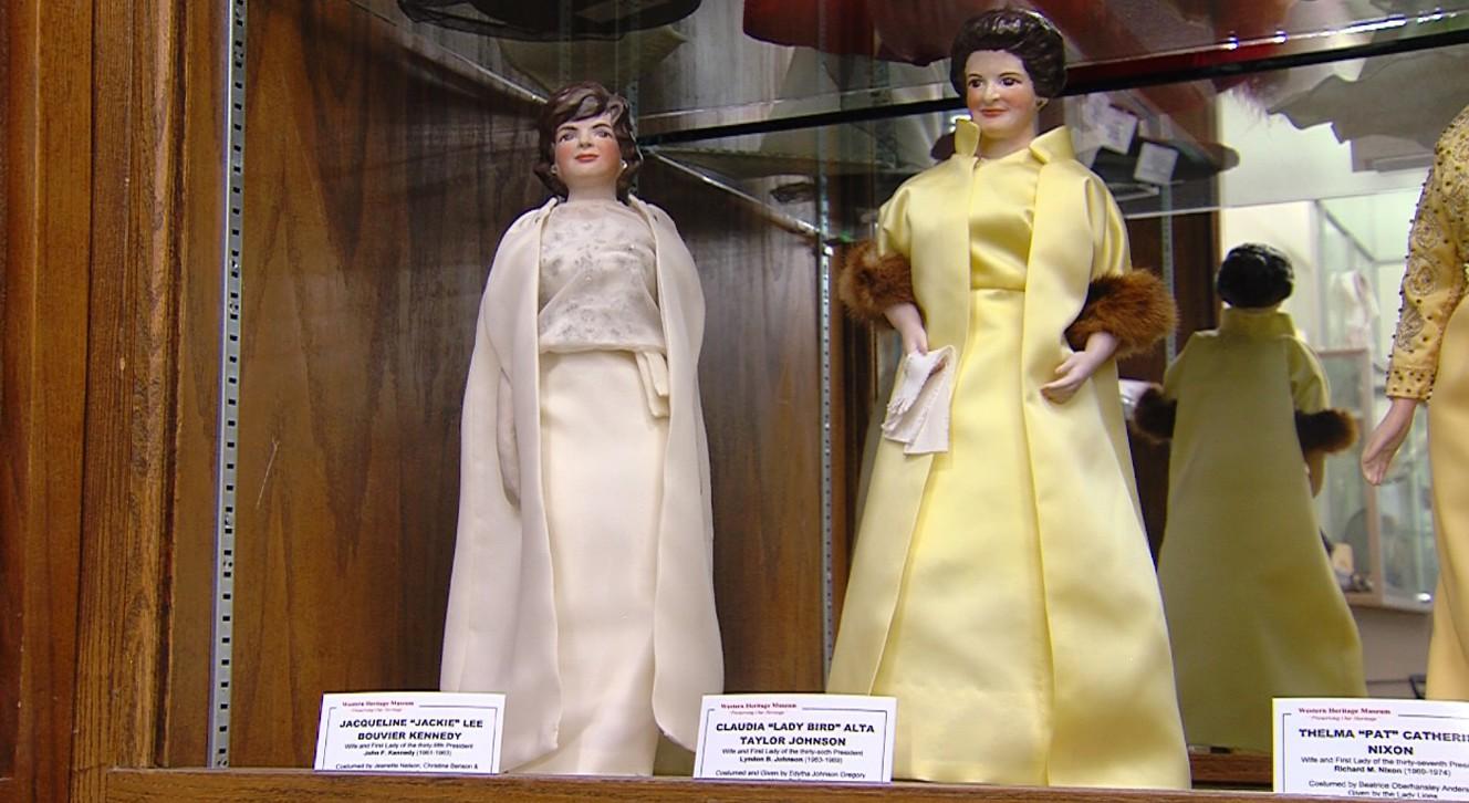 First lady dolls on display at Vernal museum | KSL.com