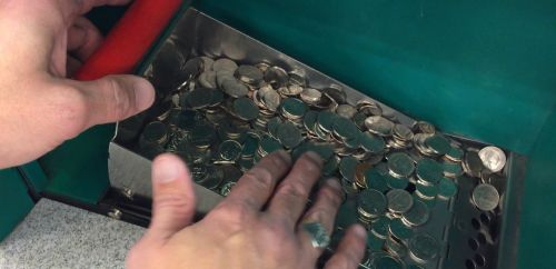 Coin counting machine experiment: How accurate are they