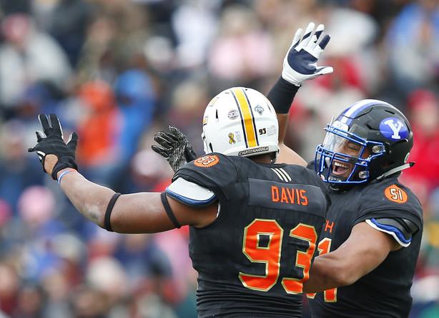 Davis Webb Senior Bowl