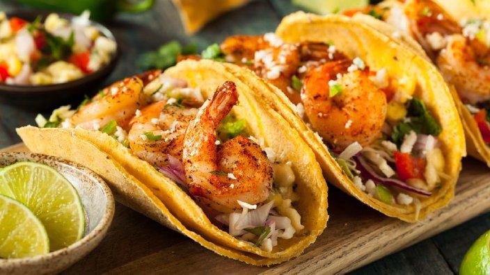 Studio 5 Bang Bang Shrimp Tacos