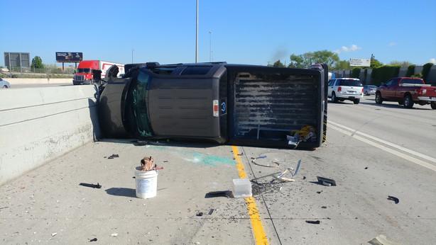 ksl traffic report Crash on northbound I-15 near Midvale backs traffic up to Draper ...