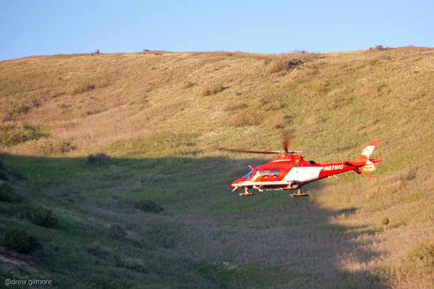 Paraglider Critically Injured After Crash Near Living Room Hiking