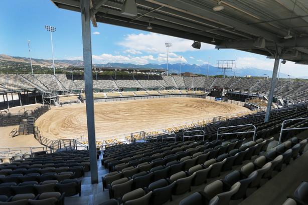 Utah State Fairpark Finishes New 17m Arena Ksl Com