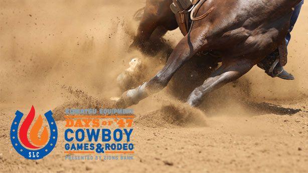 Live Days Of 47 Cowboy Games Amp Rodeo Ksl Com