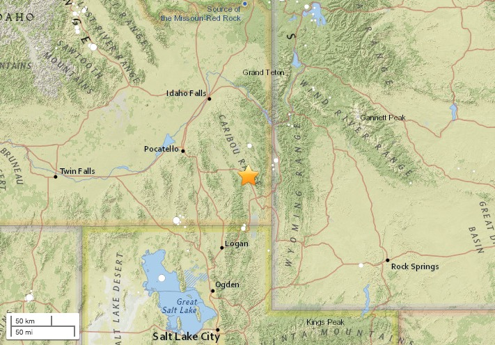 141 earthquakes shake Idaho since Saturday KSLcom