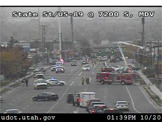 Downed power lines in Provo cause road closures, Midvale