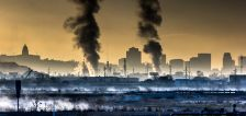 User submitted: Photos show winter sunsets, smog and traffic
